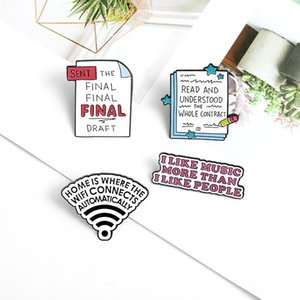 You Are Doing Great Cute Funny Enamel Brooches Pins for Women Christmas Demin Shirt Decor Brooch Pin Metal Kawaii Badge Fashion Jewelry
