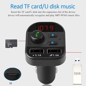 Kit vivavoce auto senza fili Bluetooth Bluetooth Trasmettitore MP3 Radio 2 USB Caricatore Accessori auto Vivavoce