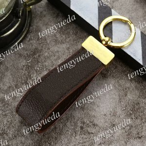 Top Fashion Designer Phone Straps Keychains Cellphone Case Decoration Pendant High Quality Leather Band Luxury Key Ring Wristband