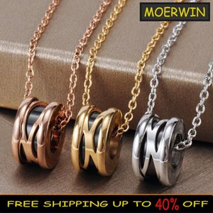 Chains The Sterling Silver Color Hollow Black Ceramic Necklace Women Fashion Clavicle Chain Jewelry Valentine's Day Gift