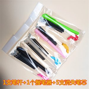 Disappearing Automatic Refill Calligraphy Groove Practising Book Magic Fading Refill Set 5 Refills