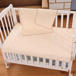 Algodão de Algodão Madeira de Algodão Fralda Fralda Bedding Mudando Cover Pad Impermeável Colchão Protetor Bebê Bebê Baby Pad para dormir 837 x2