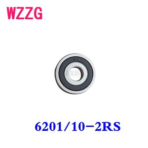 4PCS non-standard bearing WZZG 6201 10-2RS 10mm*32mm*10 mm high precision motor for fitness equipment