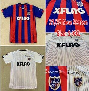2021 J1 League League Jersey FC Tóquio Camisetas Casa Away Men Jerseys de futebol adulto 2022 Maillot de Futol Tamanho S-XXL