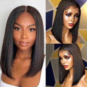 Человеческие волосы короткие парики парики дешевые человеческие волосы парики тупые разрезать боб парик с 100% бразильскими волосами