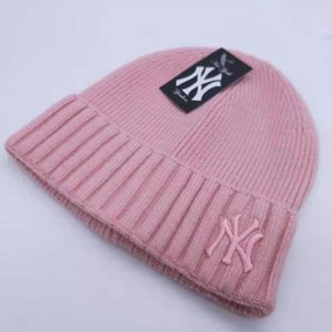 Francia para hombre diseñadores de moda invierno al aire libre hatsknitting femenino de comercio exterior sombrero nuevo bordado letra aislamiento aislamiento de viento Lhwku