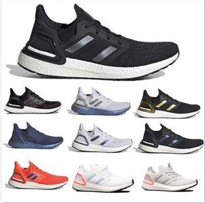 2021 Kanye Ultra Erkekler Kadınlar için Koşu Ayakkabıları Artıyor Kadınlar Koşucu Üçlü Siyah Beyaz Panda Ultraboost Erkek Trainer Nefes Spor Sneakers