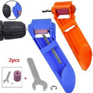Portable handheld wheel for polishing ordinary iron straight shank twist drill grinder