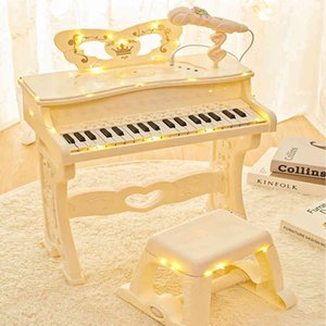 Children's Piano Toy multifunctional electronic organ with microphone beginner Girl 2 baby 3 year old 5 child 6 gift