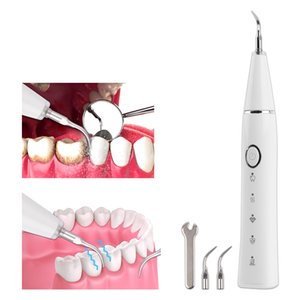 Portable Household Dental Calculus Remover Electric Tartar Remover Tartar Ultrasonic Whitening USB Rechargeable Tooth CleanerRab