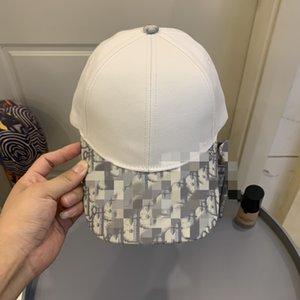 Moda Branco Brown Boné Boné Preto Homens Mulheres Designers Caps Cappelli Firmati Chapéus Chic de Alta Qualidade