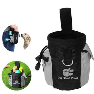 New Pet Dog Puppy carrier Snack Bag Waterproof Obedience Hands Free Agility Bait Food Training Treat Pouch Train Pouch for Pets freeshipping