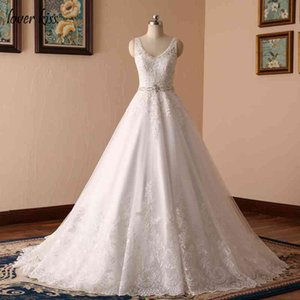 Vestido Lover the Kiss Noiva Edge Wedding Gowns for Women Crystal Claws Backless A-line Bride Dress Robe