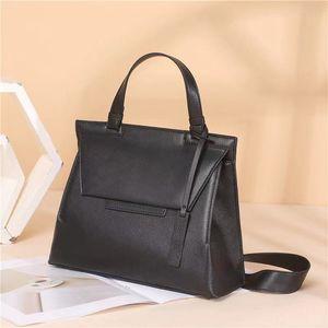 2021 роскошные дизайнеры сумки высокого качества коровьей женской сумки на плечо мода классика