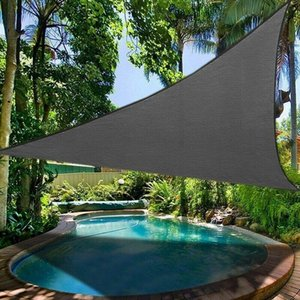 Shade 3*3*4.3M Triangle Sail Outdoor Garden Waterproof Canopy Right Patio Plant Cover Anti-UV Block Awning