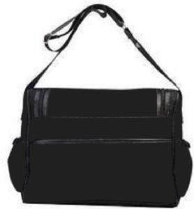 الكتف المتشرد جديد حفاضات مصمم إمرأة قماش براون الأسود الوردي الطفل الحفاض أكياس مومياء الأم حقائب اليد
