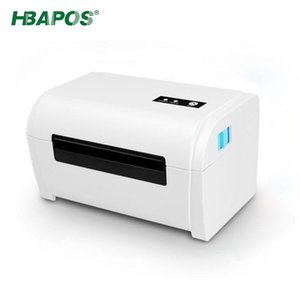 Printers HBAPOS Thermal Printer Label Product Barcode Sticker 40-110mm General Express Waybill USB Mobile Phone Bluetooth 4 Inch
