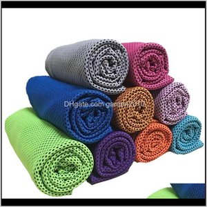 9035Cm Double Layer Ice Cold Summer Sunstroke Sports Exercise Cool Quick Dry Soft Breathable Cooling Towel For Kids Me5Xx S7Tub