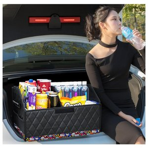 Car Organizer Trunk Box Storage Bag Foldable Suitable For Truck SUV Cargo Stowing Finishing Automobile Parts