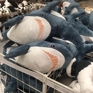Creative toys cute shark doll cushion sofa home decoration pillow plush toy