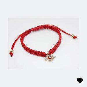 Red String Bracelet Evil Eye, Red String Of Fate, Red eye bracelet Good Luck Bracelet, Amulet Protection Bracelet 6 N2