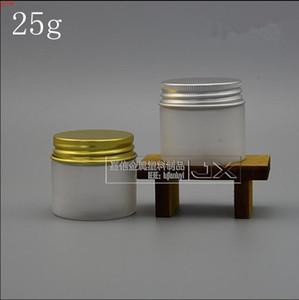 50 шт. 25 г матового белого крема банка пустой косметический упаковочный контейнер глаз мини-банк бутылка хорошая кол