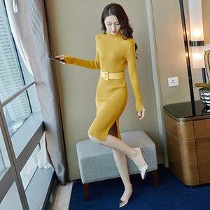 Хорошие продажи OEM Service Subse Type Hole Украшение коричневого цвета Повседневные платья