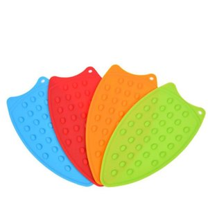 Ironing Boards 1PC Silicone Iron Insulation Pad Portable Non-slip Western Food Mat Board Protection Home