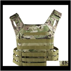 Clothing Drop Delivery 2021 Hunting Tactical Accessoris Body Armor Jpc Plate Carrier Vest Mag Chest Rig Airsoft Gear Loading Bear Vests Camou