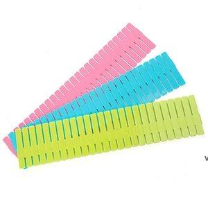 DIY Schubladen Trennwände Kunststoff Gitter Einstellbare Schubladenteiler Haushaltsraum Aufbewahrung für Zuhause Tidy Closet Makeup Socken Unterwäsche HWD7141