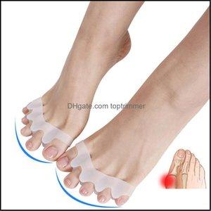 Toe Separators Art Salon Health & Beautytoe Separator Hallux Valgus Overlap Separation Toes Rehabilitation Corrective Ortics Five Holes Nail