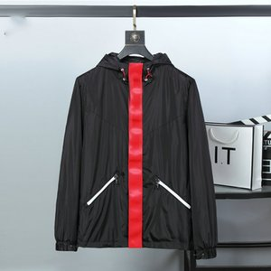 20ss men's long sleeve jacket high quality fashion designer for spring and autumn luxury clothes hooded windbreaker clothing