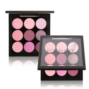 Colors Makeup Eyeshadow Palette Matte&Shimmer Smoky Eye Shadow