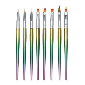 Pieces Set Of Nail Brush Pen Painting Set, Used To Draw Patterns Set Art Tools Brushes