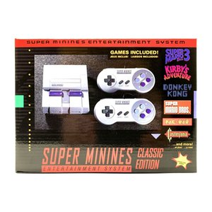 Super Mini SNES 4K HDTV Video Game Console 16bit Support Download Store Progress for NES Classic 21 or 600 Games Players