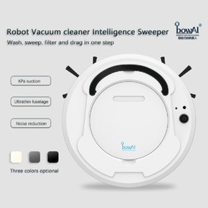 bowAI Robot Vacuum Cleaner Sweeper Wireless for Home Upgraded Smart Household Powerful Cleaning Nail Dust Wet and Dry Mop 3 in 1