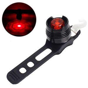 Fahrrad Radfahren Vordere Rückseite Rücklicht LED-Fahrrad Light Mountain M Taillight Safety Warnlampe Bypicle Lampe VORSICHT 88 B2CSHOP