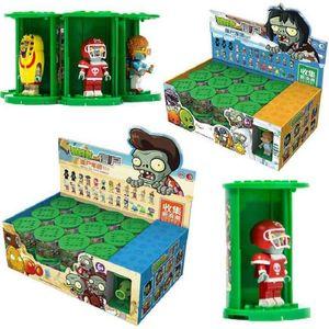 Genuine plant war zombie 24 riding folding blind box puzzle assembled building blocks intelligence development toys