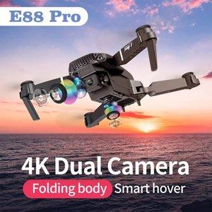 E88 Дрон складной 4K высокой четкости Воздушная фотография профессиональный самолет боевой дистанционный контроль Ученики Детские вертолетные игрушки