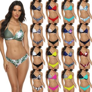 Two-piece Suits Swimsuits Bikini Set Swimming Suit for Women Bath Clothing Free Swim with Pad Clothes Summer Wire Swimwear