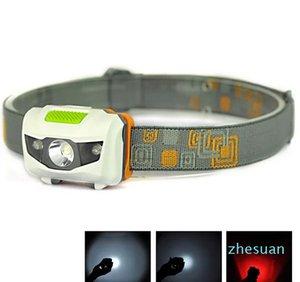 Mini Portable Headlamp 600LM Фара Cree R3 Фары 2 Светодиодные фонарические фары Факел Ланерна с повязкой, походы
