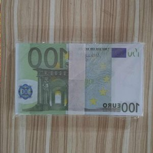 Presents Euro Trick Billet Toy Faux Stage Bar Atmosphere Money Children Collections Party 100 Banknote Currency Holiday Copy Prop Fffsr