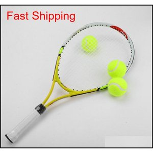 3pcs Professional Rubber Tennis Ball High Resilience Durable Tennis Practice Ball For School Club Competition Tr qylyZX abc2007
