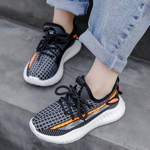 Kids Shoes Breathable Sneakers Knaye West Run Trainers Infant Summer Spring Youth Boys And Girls Chaussures Pour Enfants