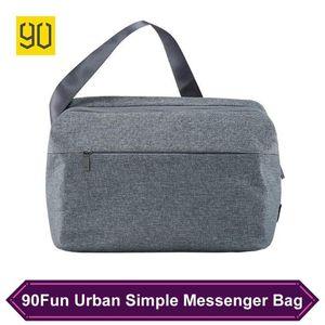 Original 90Fun Urban Simple Style Messenger Bag Shoulder Casual Lightweight Men Women Large Capacity Crossbody Bags Drop Backpack