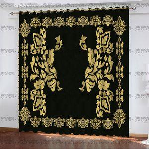 Trend Royal Curtain Hipster Top Quality Designer Cloth Home Bedroom Good Dream Bathroom Window Door Multi-function Luxury Curtain