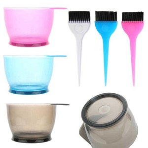and Set Mixing Hair Color Kit Tint Coloring Dye Bowl Comb Brush