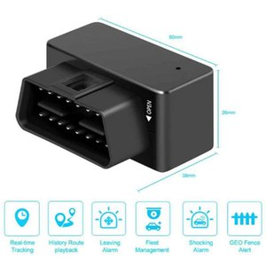 Mini GPS Tracker 16 Pin Car Vehicle Tracking Device OBD GSM Anti-Lost Recording Long Standby Locator For Motorcycle & Accessories