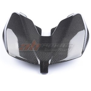 Motorcycle Black Seat Unit Cover for Ducati Hypermotard 950 2019-2020 Full 100% Carbon Fiber