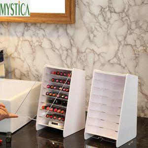 Bathroom Storage & Organization Multi-layer Makeup Box Plastic Desktop Cosmetic Brush Organizer Holder Lipstick Nail Polish Case Home Displa